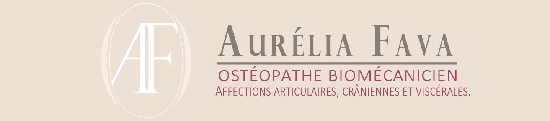 Aurelia Fava Ostéopathe Logo